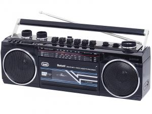 Radiocasetofon portabil RR 501 BT FM, Bluetooth, MP3, USB, negru Trevi [0]