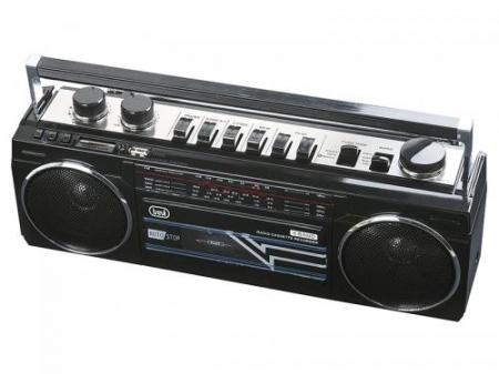 Radiocasetofon portabil RR 501 BT FM, Bluetooth, MP3, USB, negru Trevi [2]