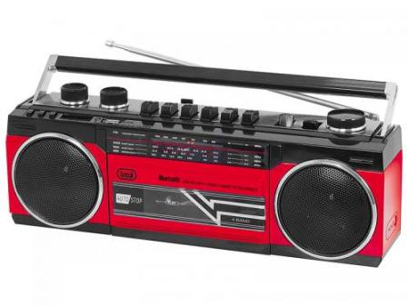 Radiocasetofon portabil RR 501 BT FM, Bluetooth, MP3, USB, rosu Trevi1