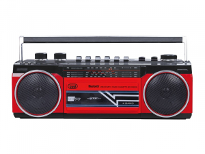 Radiocasetofon portabil RR 501 BT FM, Bluetooth, MP3, USB, rosu Trevi0