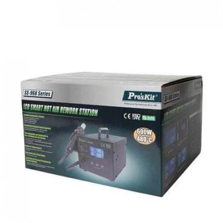 Statie de lipit cu aer cald si afisaj LCD, Pro'sKit1