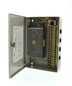Sursa in comutatie AC-DC cu cutie 240W 12V 20.0A 18canale WELL1