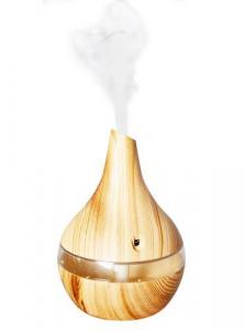 Umidificator de camera cu aer rece, difuzor uleiuri esentiale, aromaterapie,ultrasunete, 300 ml, Stejar4