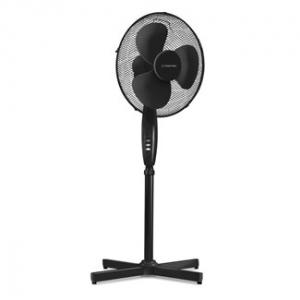 Ventilator Cu Picior Si Telecomanda, Diametru 43 Cm, Negru0