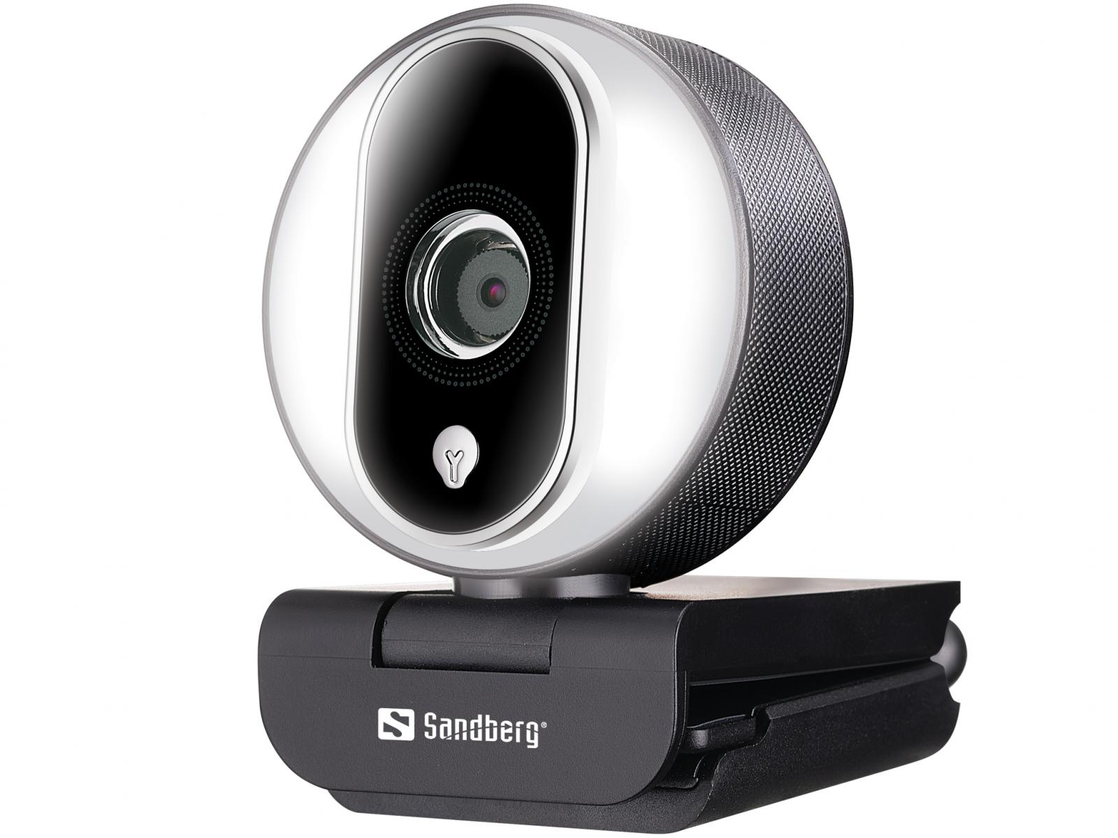 Camera Web Full HD Sandberg Streamer USB Webcam Pro