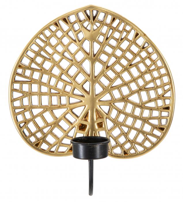 Suport Lumanare Frunza Lotus [1]