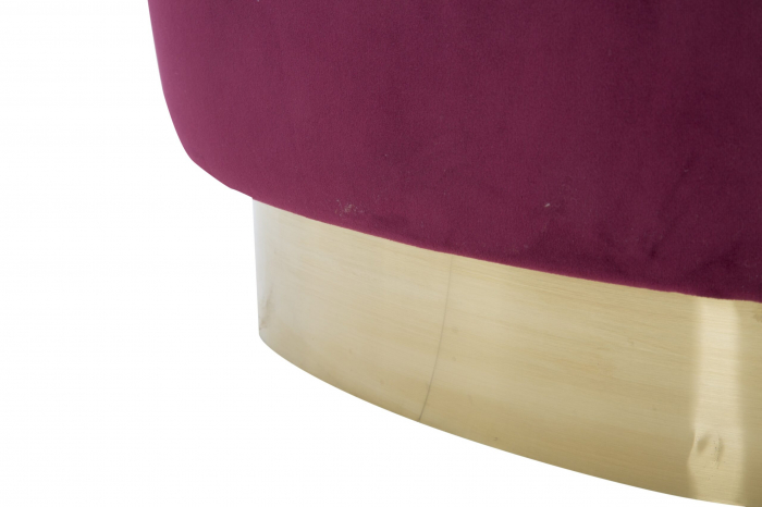 Fotoliu Decorativ Elegant Sopy Bordeaux [3]
