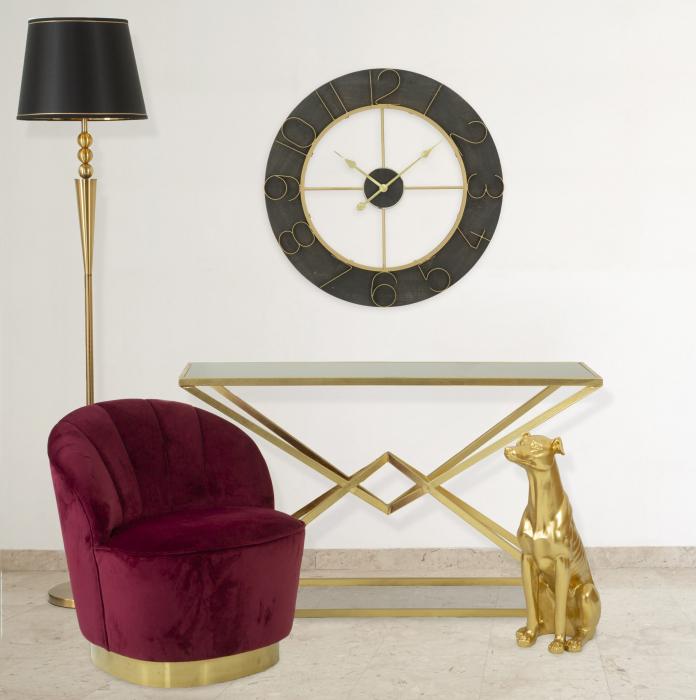 Fotoliu Decorativ Elegant Sopy Bordeaux [0]