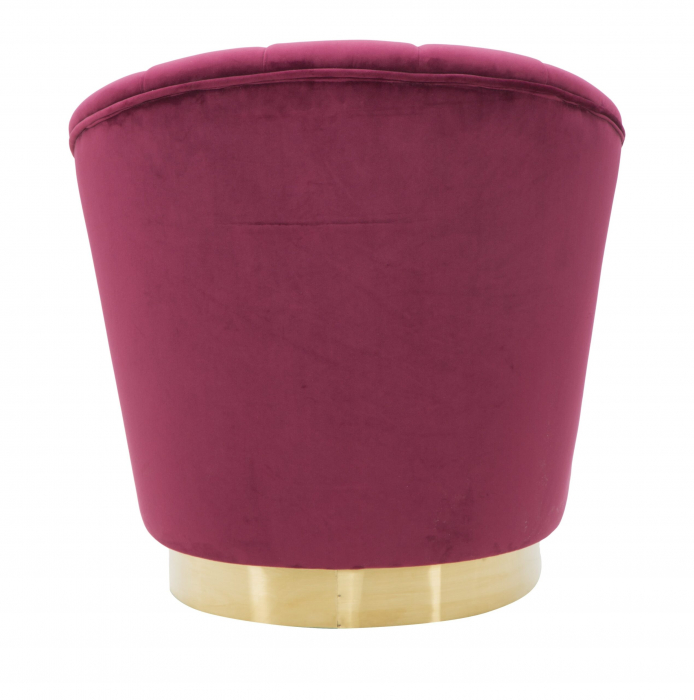 Fotoliu Decorativ Elegant Sopy Bordeaux [2]