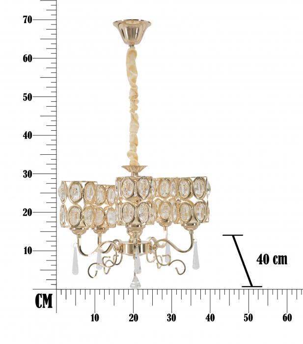 Lustra Glam Cristal [3]