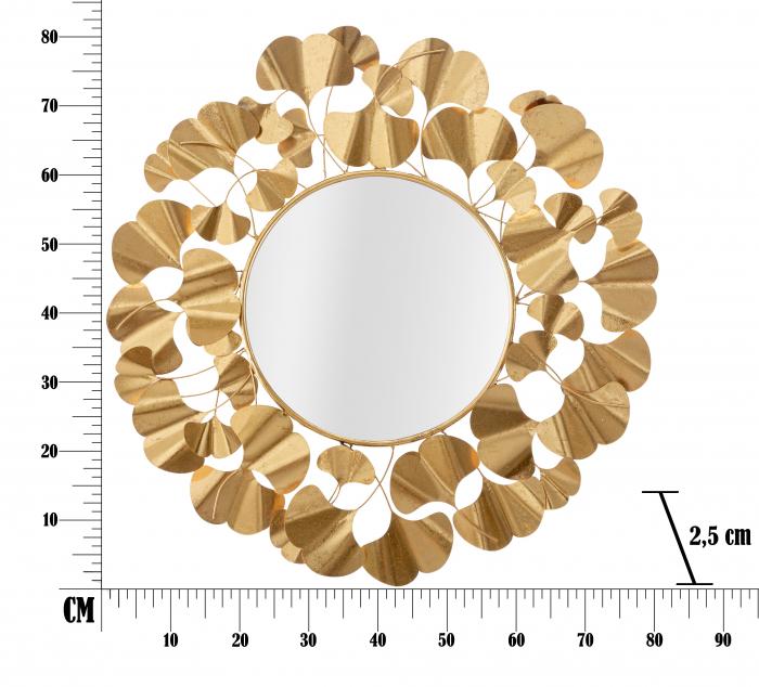 Oglinda Foglie Gold [5]