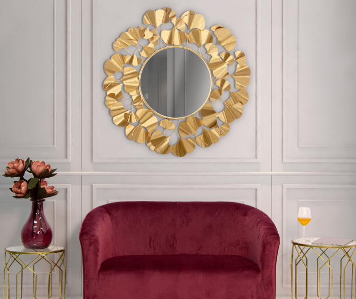 Oglinda Foglie Gold [0]