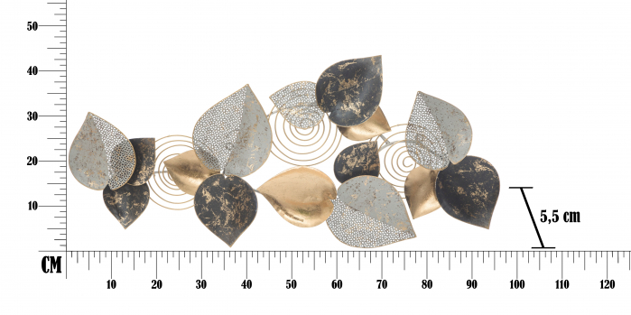 Panou Decorativ Half Leaf [6]