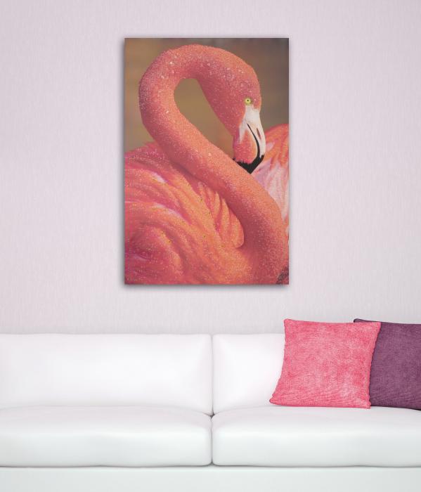 Pictura pe panza Flamingo [0]