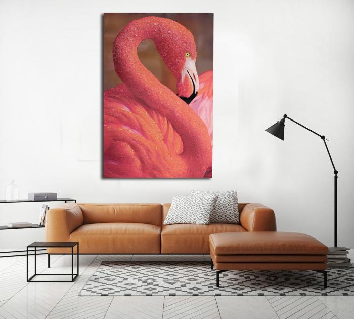 Pictura pe panza Flamingo [1]