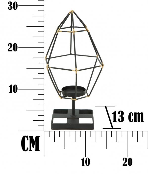 Suport Lumanare Bright Pyramid [7]