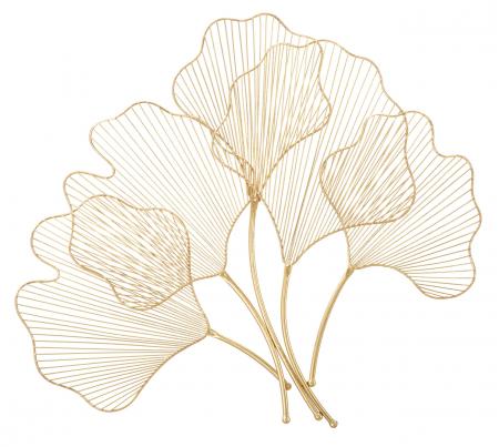 Decoratiune de perete din metal Glam Leaf [1]