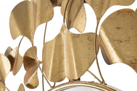 Oglinda Foglie Gold [4]