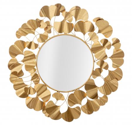 Oglinda Foglie Gold [1]