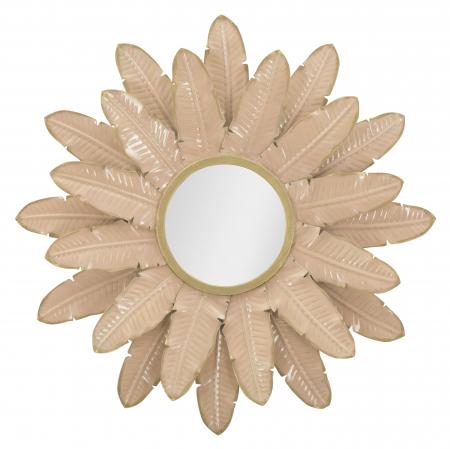 Oglinda Decorativa din metal Glam Rosa [1]