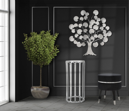 Panou decorativ Tree of Life Silver [0]