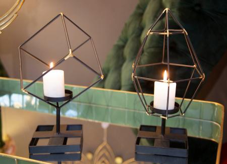 Suport Lumanare Bright Pyramid [0]