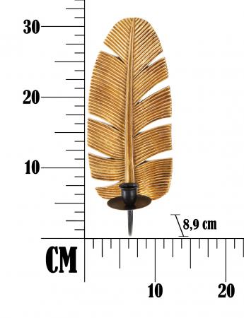 Suport Decorativ Lumanare Muro Leaf [4]