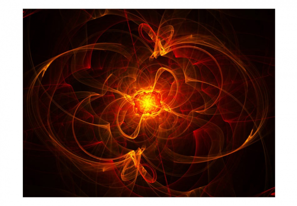Fototapet - Abstract fire 3