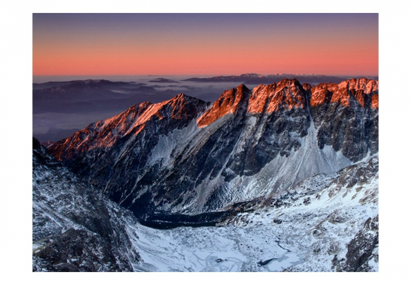 Fototapet - Beautiful sunrise in the Rocky Mountains 3