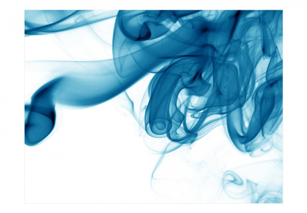 Fototapet - Blue smoke 3