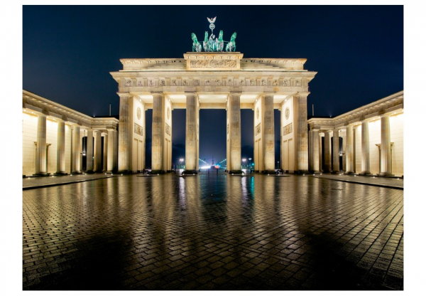 Fototapet - Brandenburg Gate at night 3