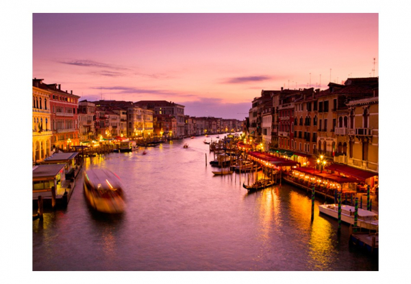 Fototapet - City of lovers, Venice by night 3