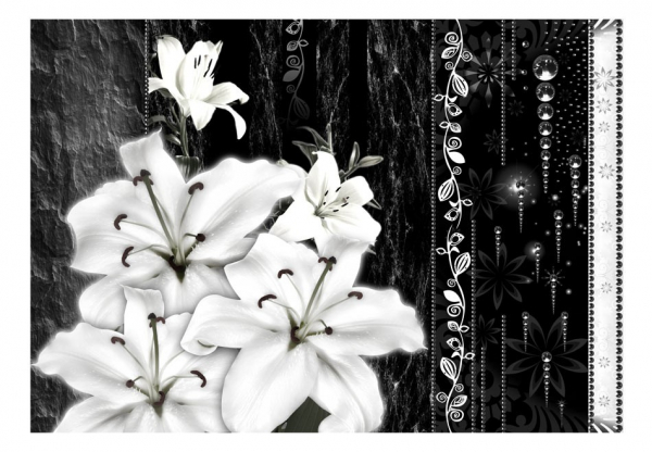 Fototapet - Crying lilies 3
