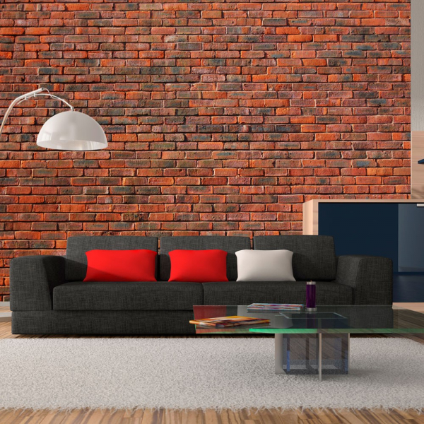 Fototapet - design: brick 0
