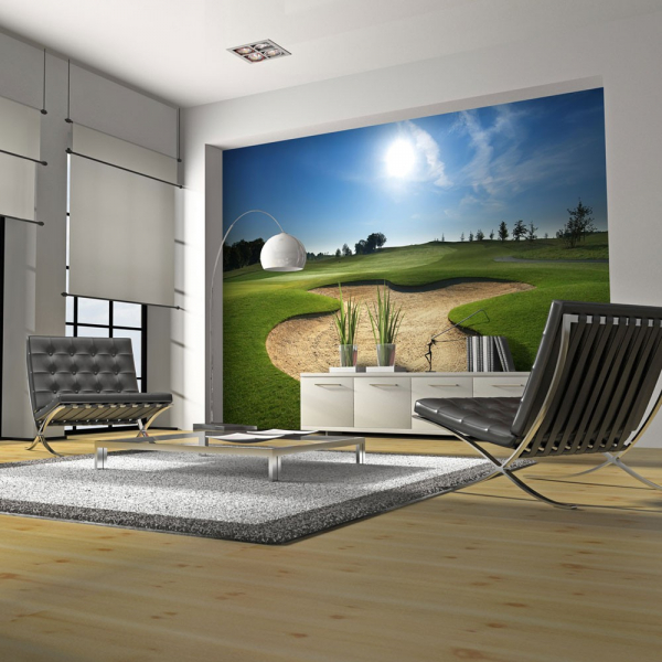 Fototapet - Golf pitch 0