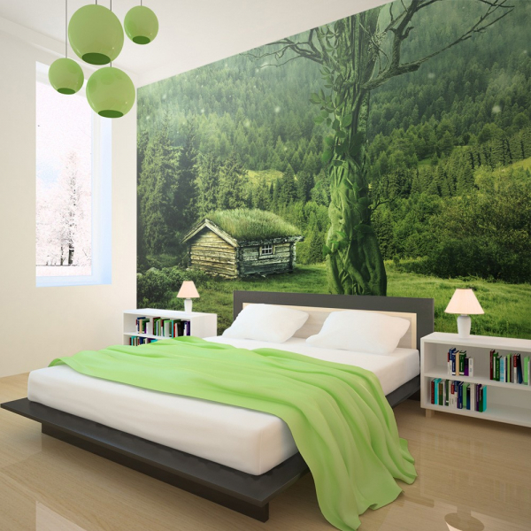 Fototapet - Green seclusion [0]