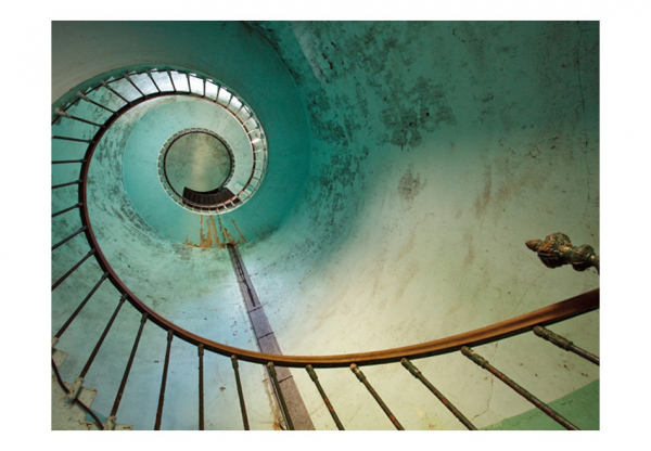 Fototapet - Lighthouse - Stairs 3