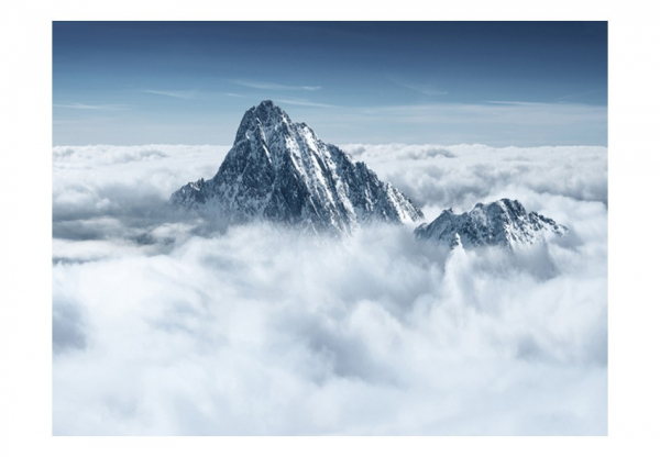 Fototapet - Mountain in the clouds 3