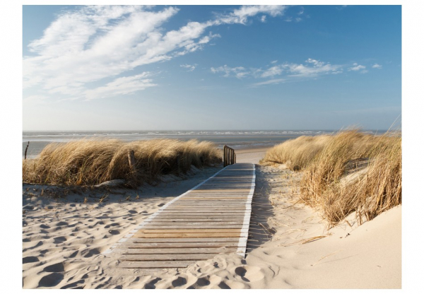Fototapet - North Sea beach, Langeoog 3