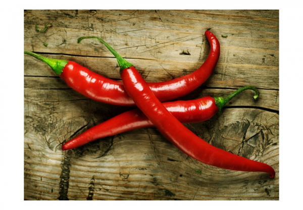 Fototapet - Spicy chili peppers 3
