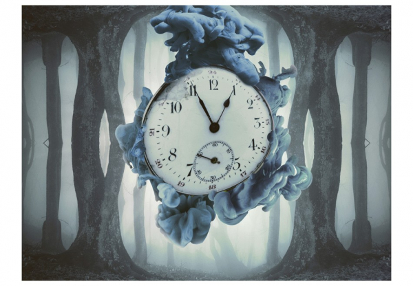 Fototapet - Surrealism of time 3