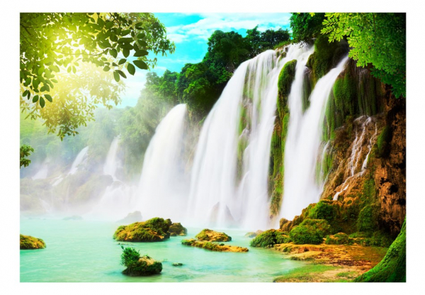Fototapet - The beauty of nature: Waterfall 3