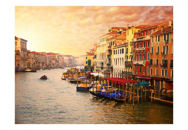 Fototapet - Venice - The Colorful City on the Water 3