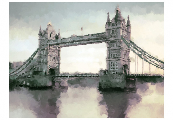 Fototapet - Victorian Tower Bridge 3