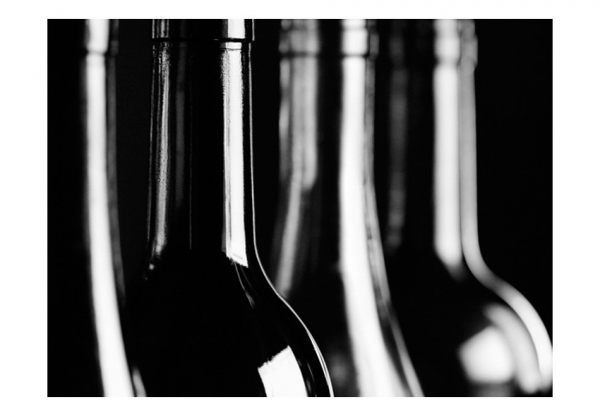 Fototapet - Wine bottles 3