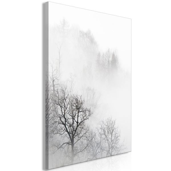 Tablou - Trees In The Fog (1 Part) Vertical 0