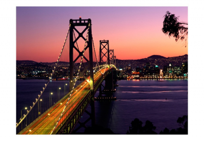 Fototapet - Charming evening in San Francisco3