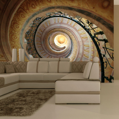 Fototapet - Decorative spiral stairs0