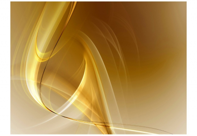 Fototapet - Gold fractal background3