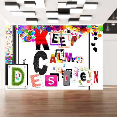 Fototapet - Keep Calm and Design0